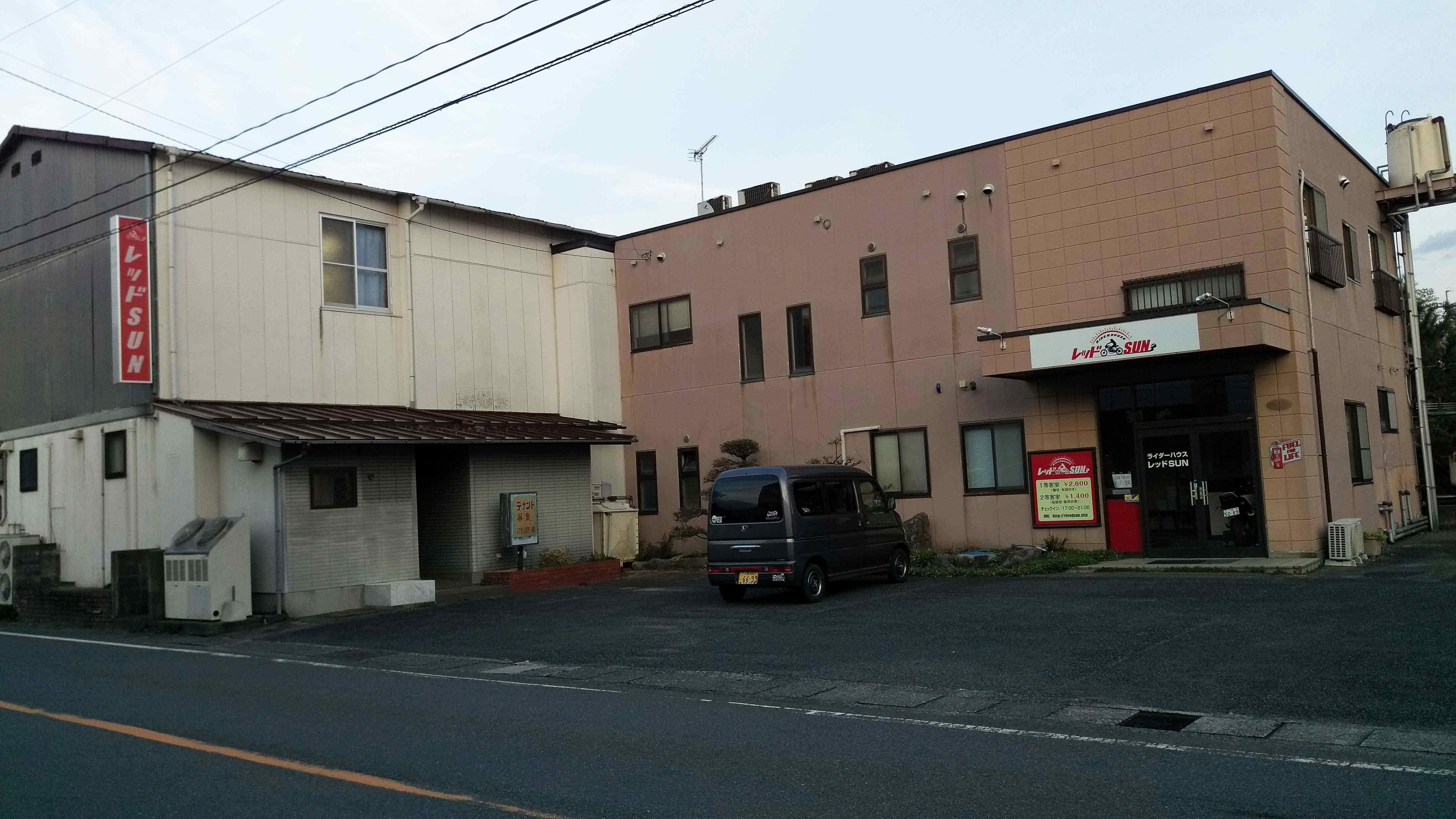 山口県下関市豊田町大字矢田252-1 ライダーハウスレッドSUN -01